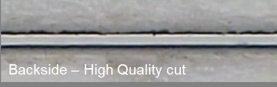 Synova sapphire cut